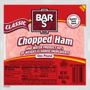 """Cooked Ham Extra Lean 4""""x6"""""""