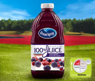 100% Juice Cranberry Concord Grape