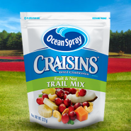 Craisins Dried Cranberries Trail Mix Cranberry, Fruit & Nuts