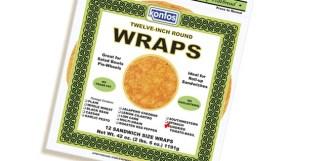 Wrap, Tortilla Sun Dried Tomato Basil 12″