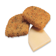 Breaded Mozzarella Cheese Appetizer