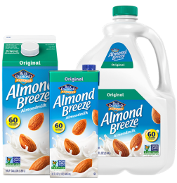 Almond Breeze Almond Milk, Original Unsweetened