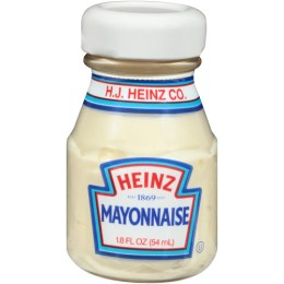 Mayonnaise, Glass Bottle Mini