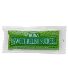 Relish, Sweet Green, Portion Packet