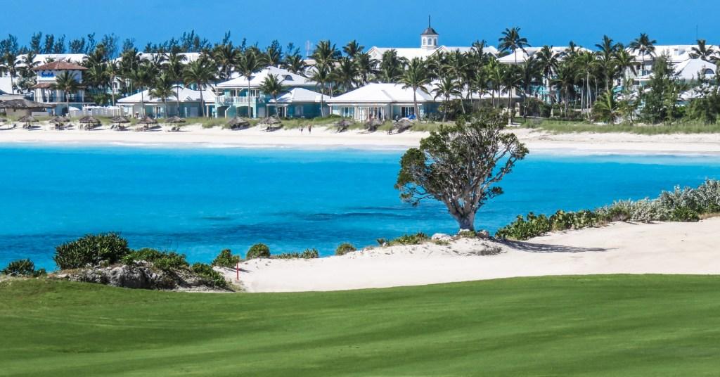 Play golf at Emerald Bay Bahamas staying at the Grand Isle Resort and Spa or Sandals Emerald Bay for the ultimate bahamas vacation