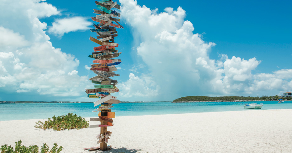 Discover Stocking Island in the Exumas on a Bahamas Tour. Flights to Exuma Bahamas with Bahamas Air Tours. Island hop Bahamas on a private Bahamas air charter.