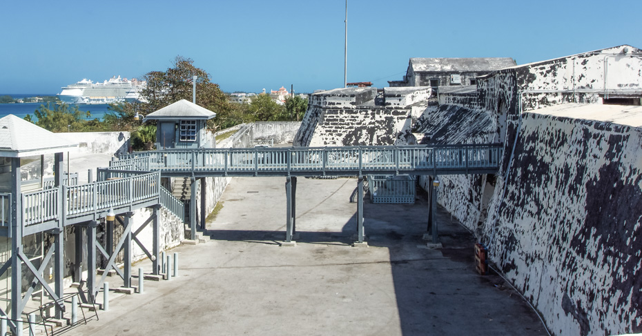Fort Charlotte, Bay Street. Things to do in Nassau Bahamas on New Providence Island. ©Bahamas Ministry Of Tourism