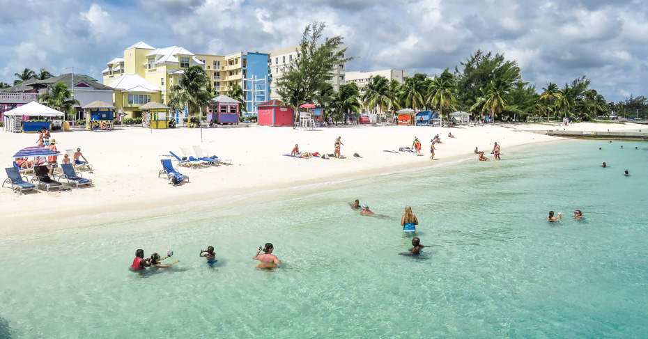 Things to do in Nassau Cruise Port at Junkanoo Beach Bahamas. Take a Bahamas Tour from Florida with Bahamas Air Tours. Things to do in Nassau cruise port.