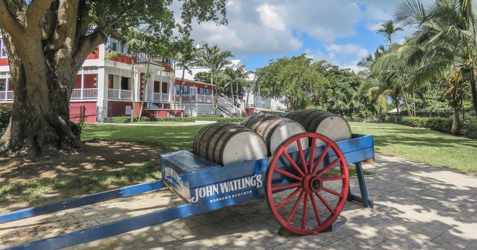 Take the Nassau Rum Tour and visit John Watling's distillery