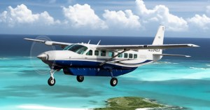Bahamas Flights Air Tours from Florida to Staniel Cay and the swimming pigs at Pig Beach.