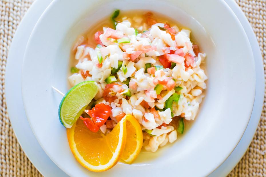 Conch Salad Recipe Bahamas Tours from Florida and Nassau.
