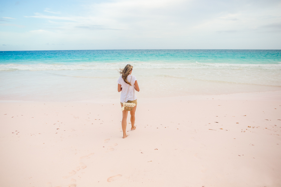 Where is Pink Sand Beach? Pink Sands Beach is on Harbour Island, Eleuthera in the Bahamas