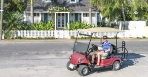 Enjoy full day Golf Cart Rental with our Harbour Island Day Trip from Nassau. Ride around the streets of Dunmore Town and Pink Sands beach withour Nassau to Harbour Island Day Tour.