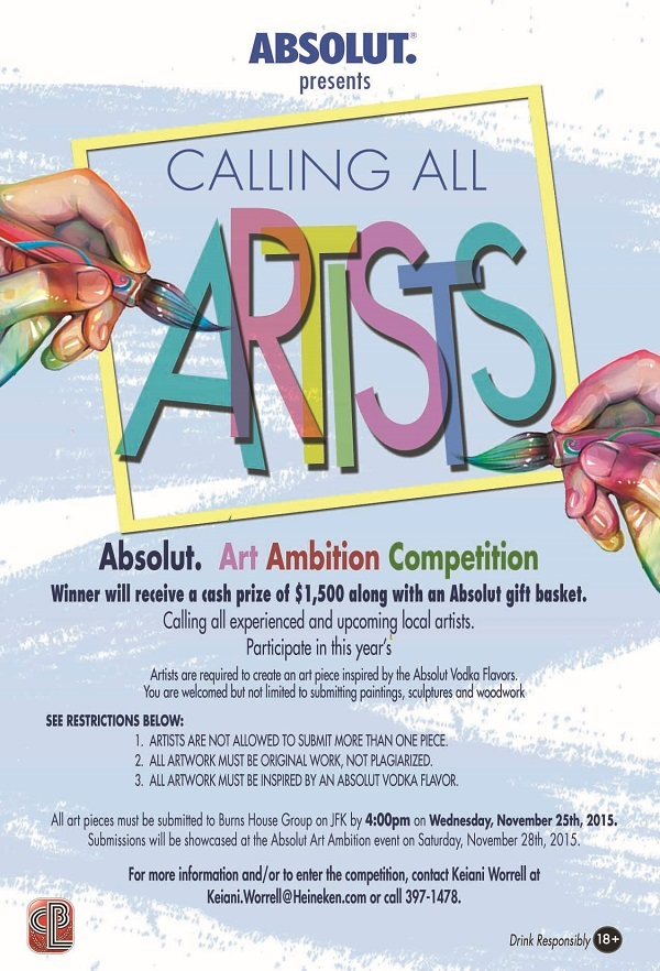 Absolut Art Ambition 2015 Calls for Local Experienced and ...