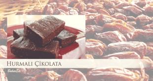 Hurmalı Çikolata Yapımı
