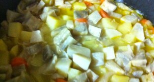 Portakallı zeytinyağlı kereviz yemeği