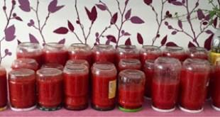 Kışlık domates sosu ve kırmızı biberli sos tarifi