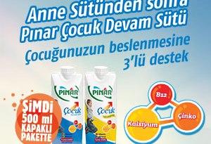 Anne Sütünden sonra Pınar Çocuk Devam Sütü