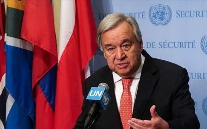 دبیر کل سازمان ملل درباره ایران ابراز نگرانی کرد