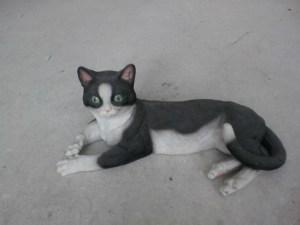 Mısır Yatan Kedi Maketi
