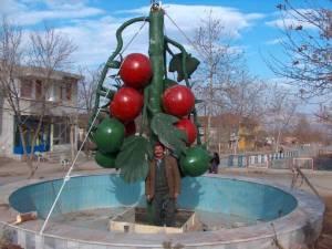 Domates Ağaç Maketi