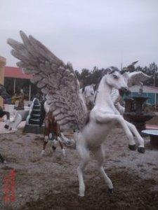 Şaha Kalkmış At Heykeli
