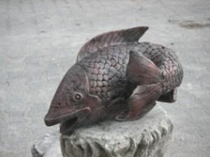 Balık Heykelleri