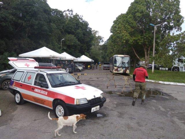 Com Exército e até helicóptero, Camaçari 'vira Colômbia' por 24h em competição de Airsoft 3