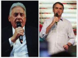 'Só faltava essa': FHC e Bolsonaro trocam alfinetadas no Twitter