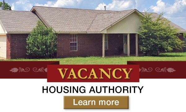 Housing Authority VACANCY