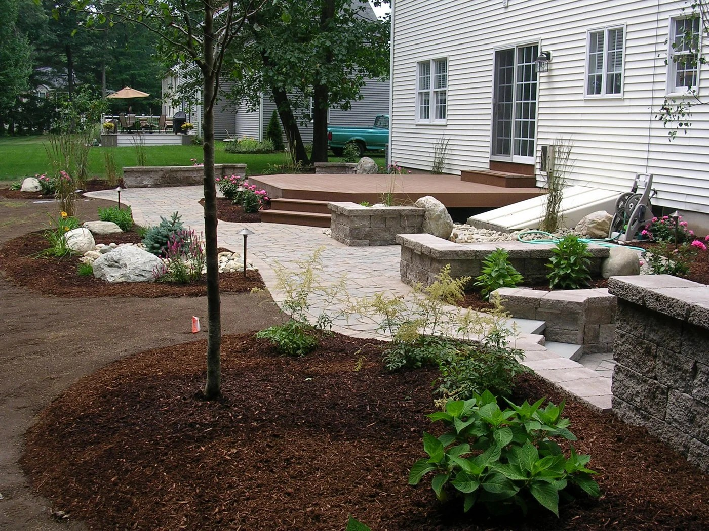 How Much does a Deck Cost vs a Paver Patio? on Backyard Patio Cost id=75340