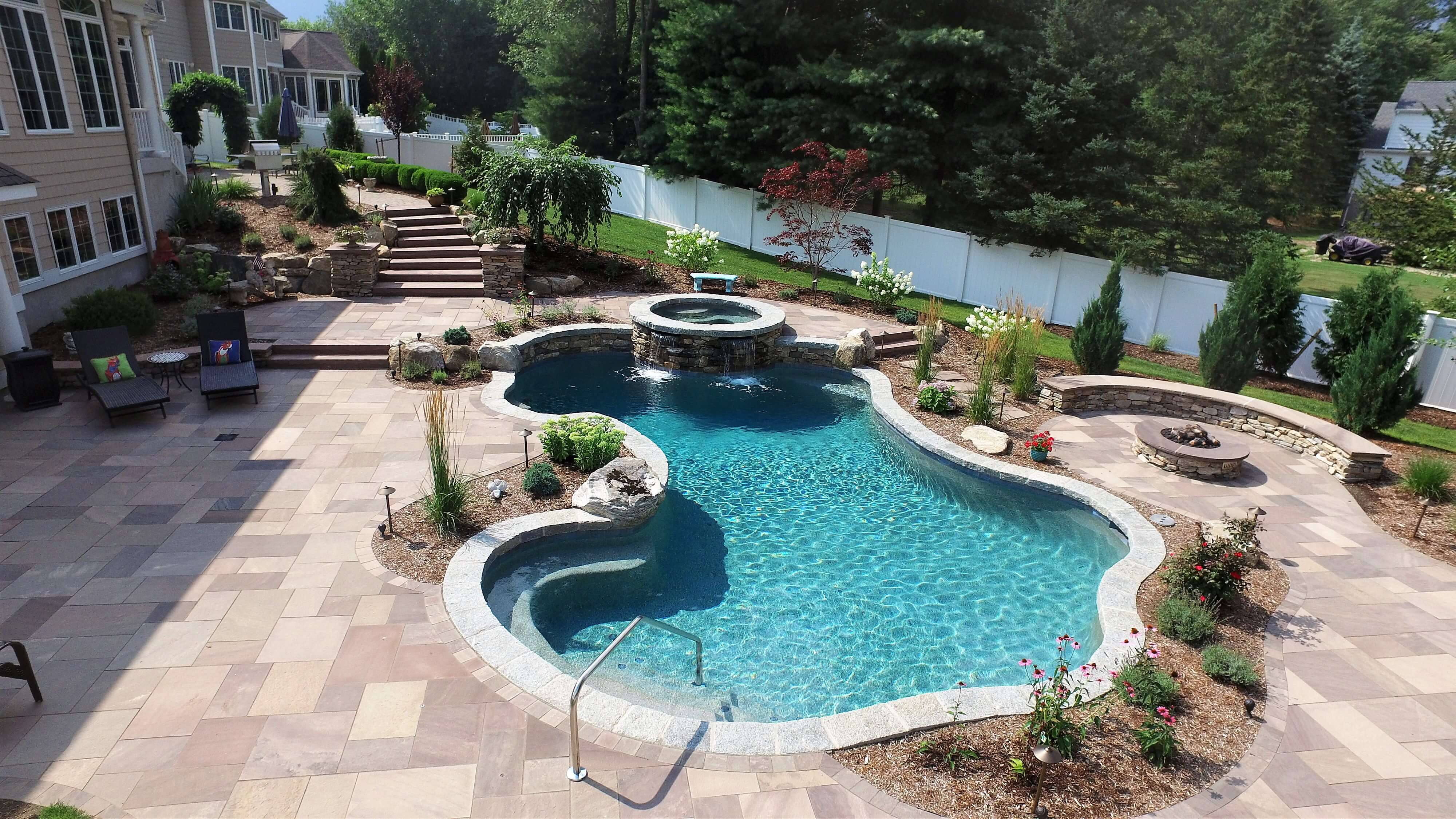 how a gunite inground pool can change
