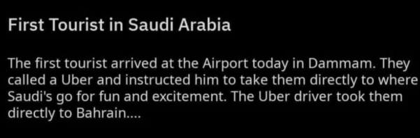 Tourismus Saudi Arabia