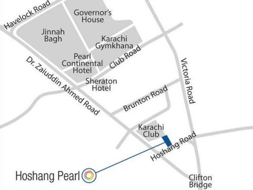 Bahria Town Hoshang Pearl map