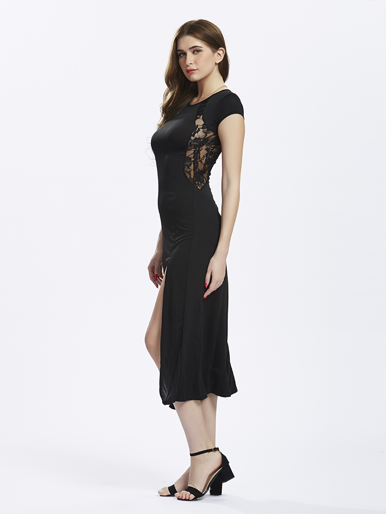 Delaney Black Side Slit Lace Maxi Dress. Delaney Wine Side Slit Lace Maxi Dress. Delaney Emerald Side Slit Lace Maxi Dress. PROMO 50% OFF: $ $ COLOR + Quick View. Garden Party Blush Maxi Wrap Dress. PROMO 50% OFF: $ $ Quick View. Kristina White Plunging Maxi Dress. PROMO 50% OFF: $ $