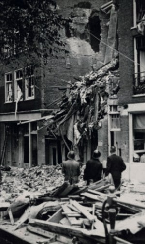 Report of the bombing Recht Boomssloot 99