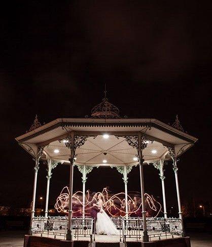 Isla Gladstone wedding bandstand