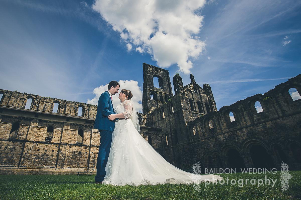 Leeds city wedding Kirkstall Abbey wedding