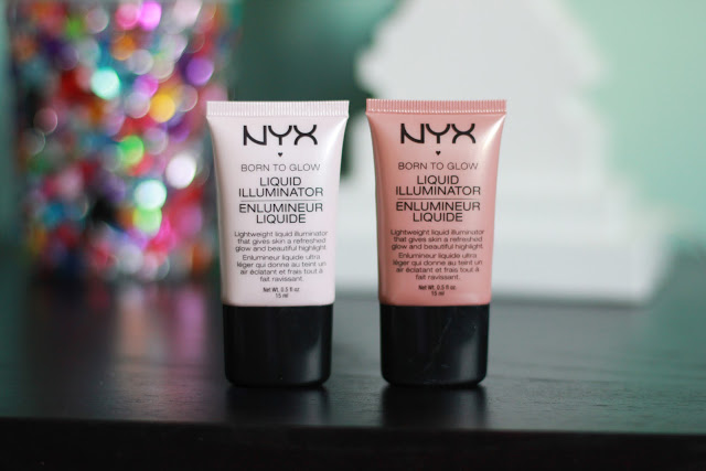 NEW! NYX BORN TO GLOW LIQUID ILLUMINATORS