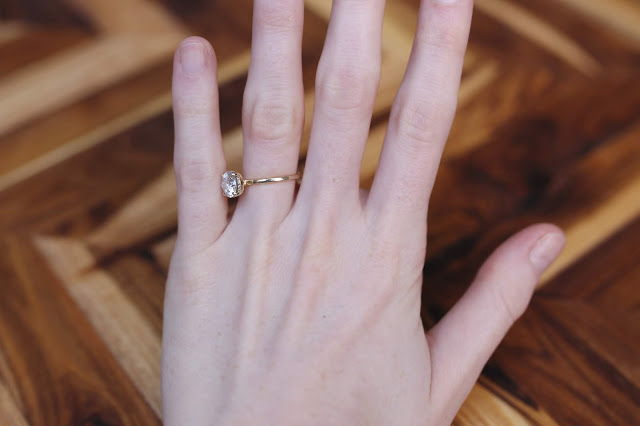 WEDDING WEDNESDAY: ENGAGEMENT RING SIZING ISSUES (HOW-TO FIX A TWIRLING OR LOOSE RING)