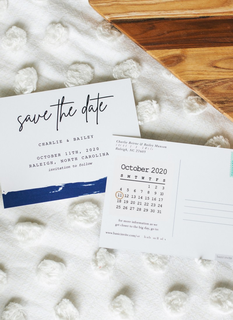 Wedding Wednesday: Save-the-Dates