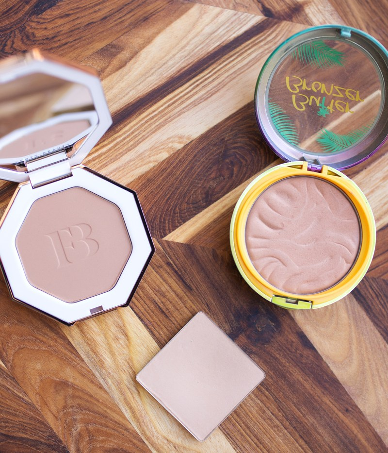 Light Bronzer Faceoff: Physician's Formula Butter Bronzer vs. Fenty Sun Stalk'r vs. Benefit Hoola