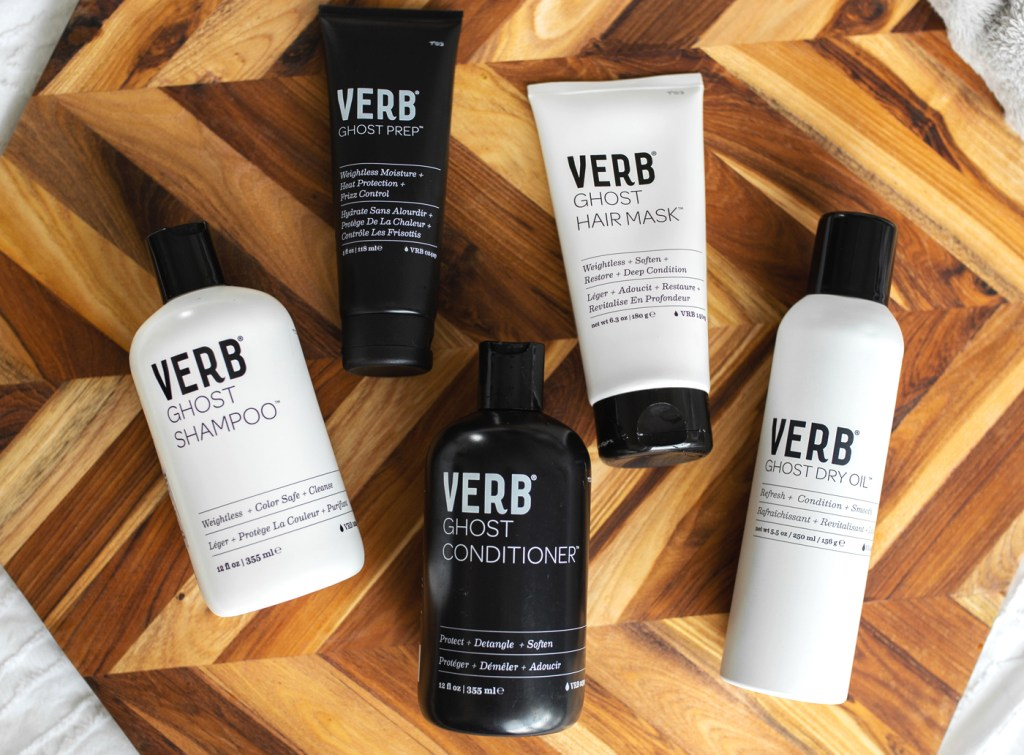 The VERB ghost haircare line