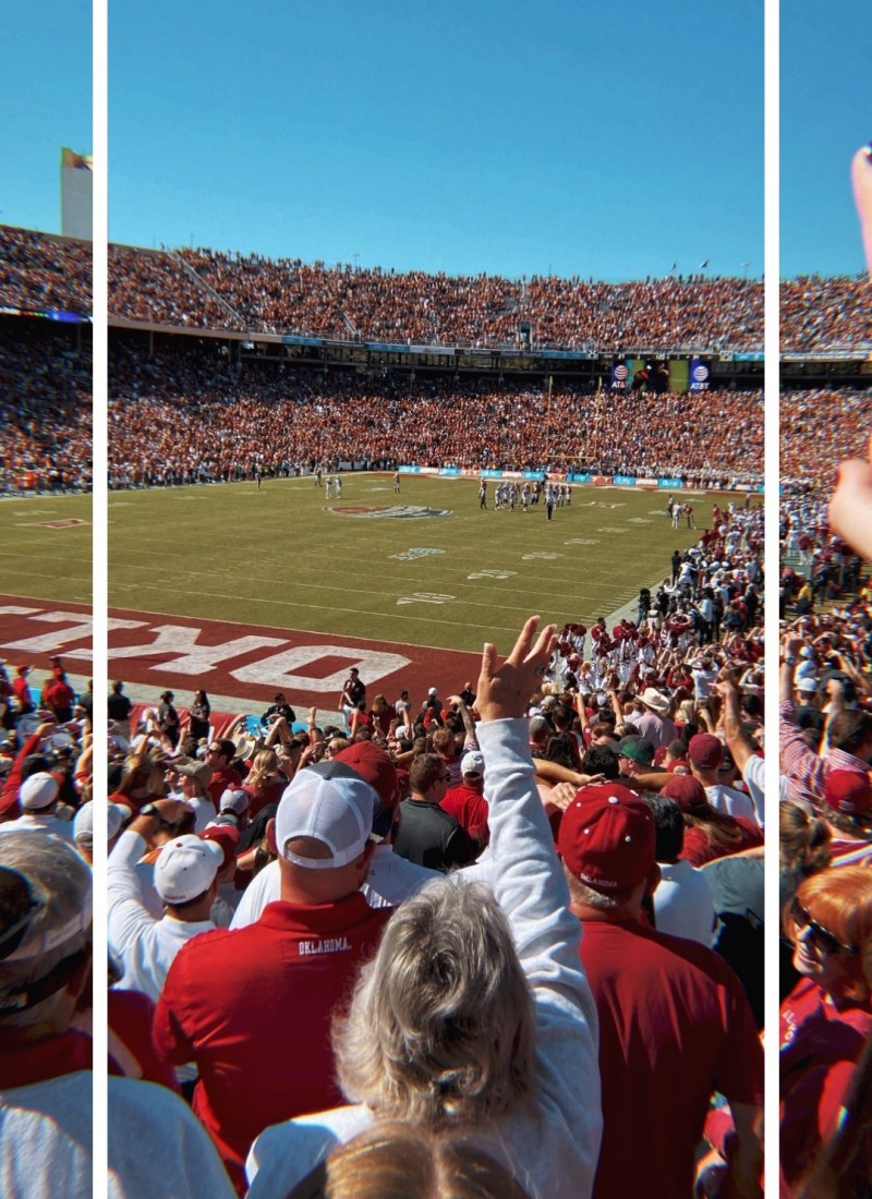 A Weekend in Dallas for Oklahoma v. Texas