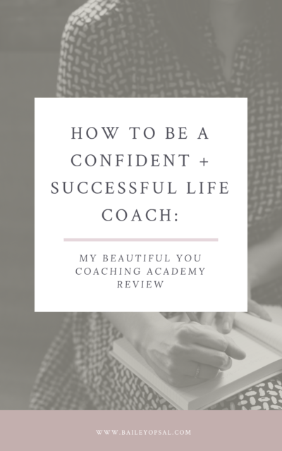 My honest Beautiful You Coaching Academy review + a special
