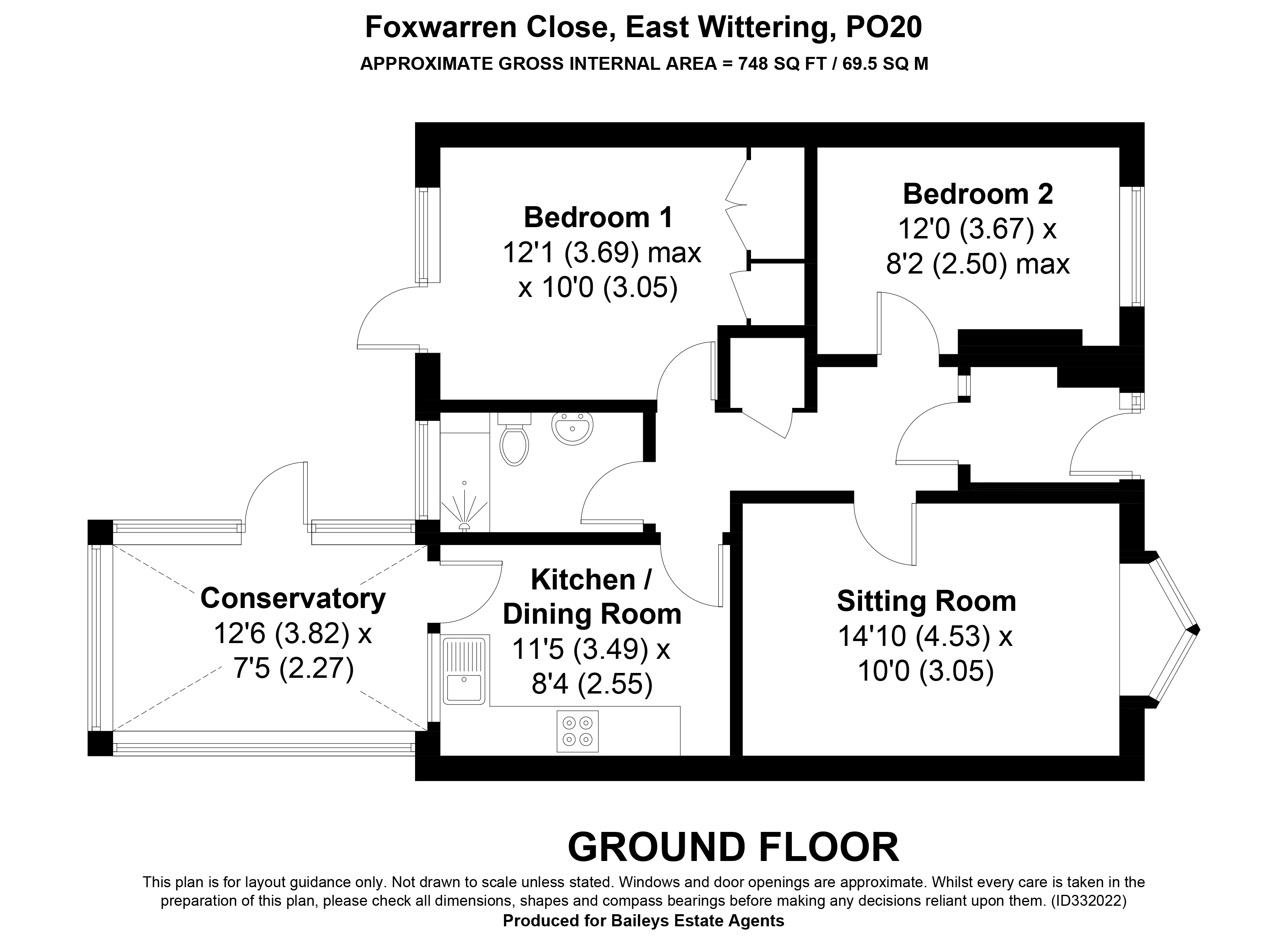 Property For Sale East Wittering 7 Foxwarren Close