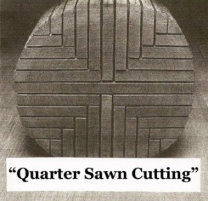 Quartersawn Process by Bailey Wood Products, Inc