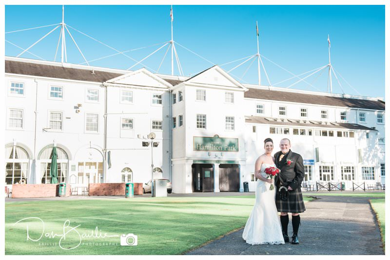 Wedding At Hamilton Park Racecourse