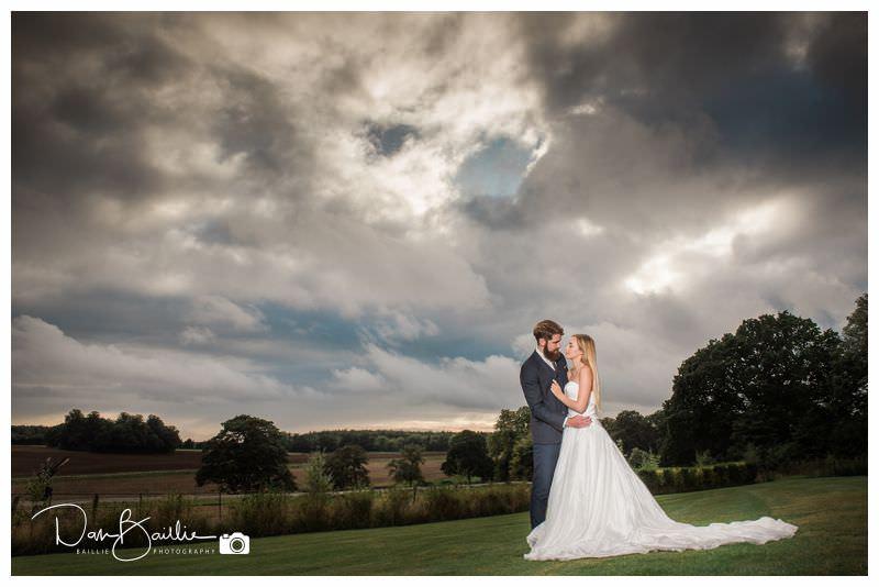 Bride and Groom Sky