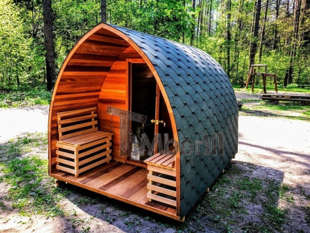 Sauna Exterieur En Kit Red Cedar